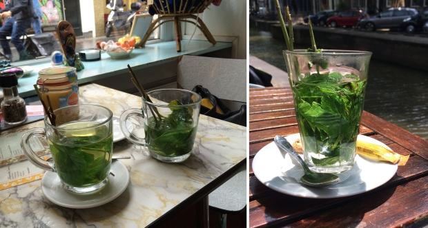 Mint tea: Amsterdam's answer to everything else!